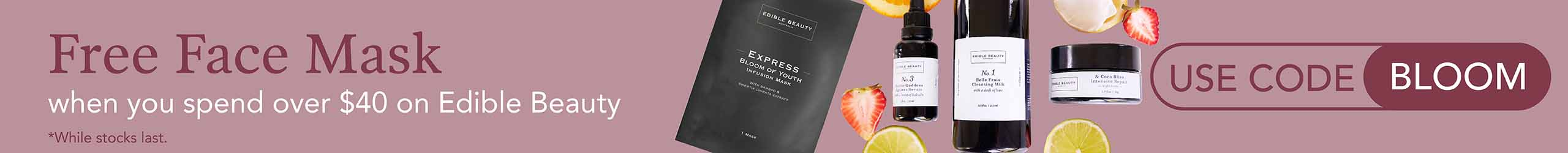 Free Gift from Edible Beauty