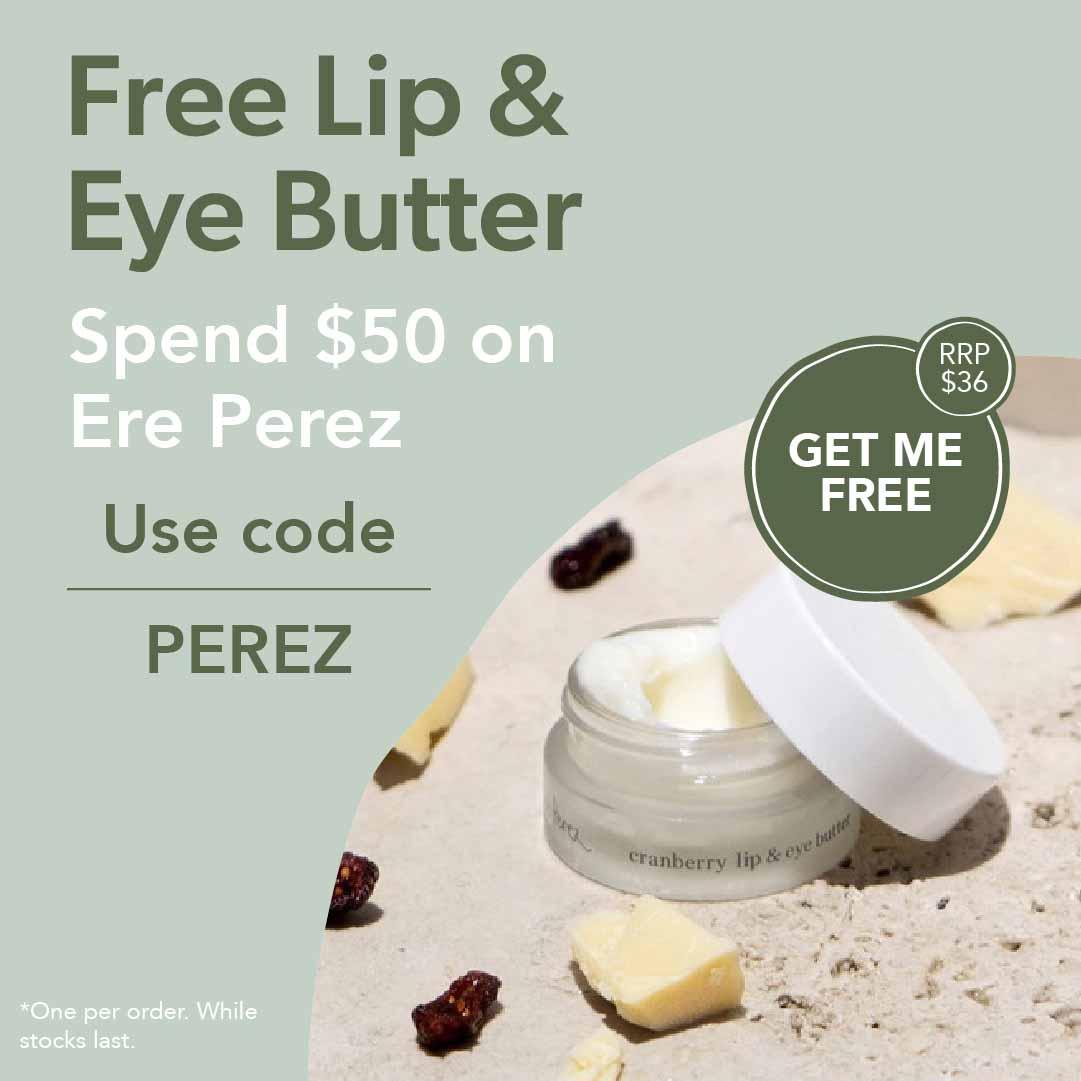Free Lip & Eye Butter