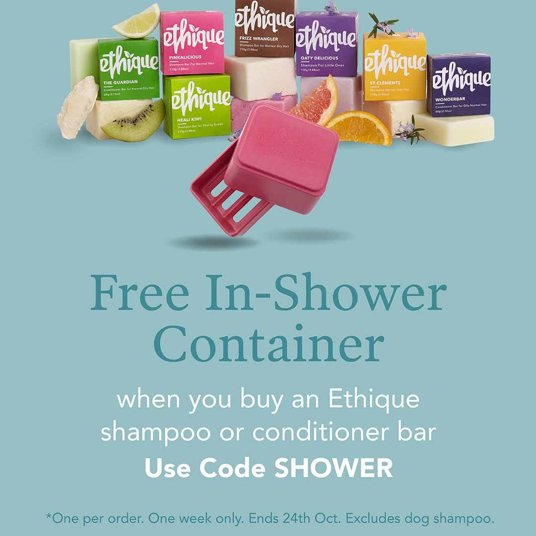 Free Ethique Shower Container