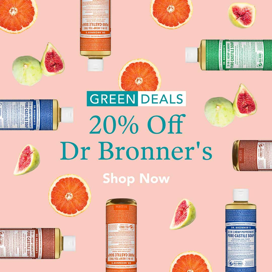 20% Off Dr Bronner's