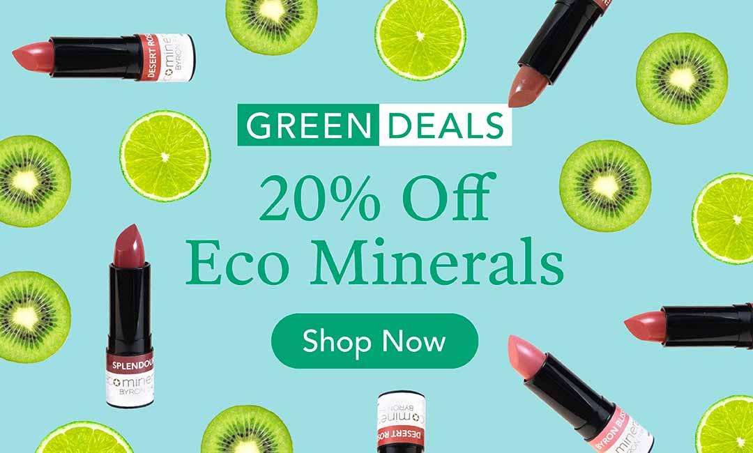 20% Off Eco Minerals