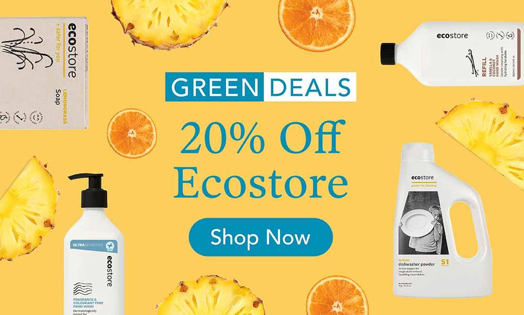 20% Off Ecostore