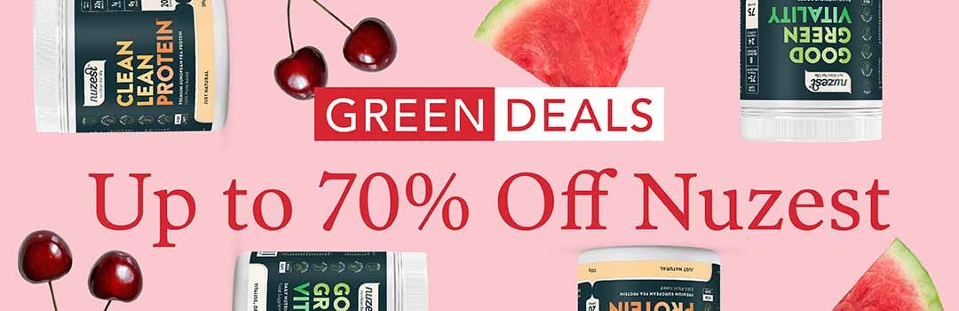 Up to 70% Off Nuzest
