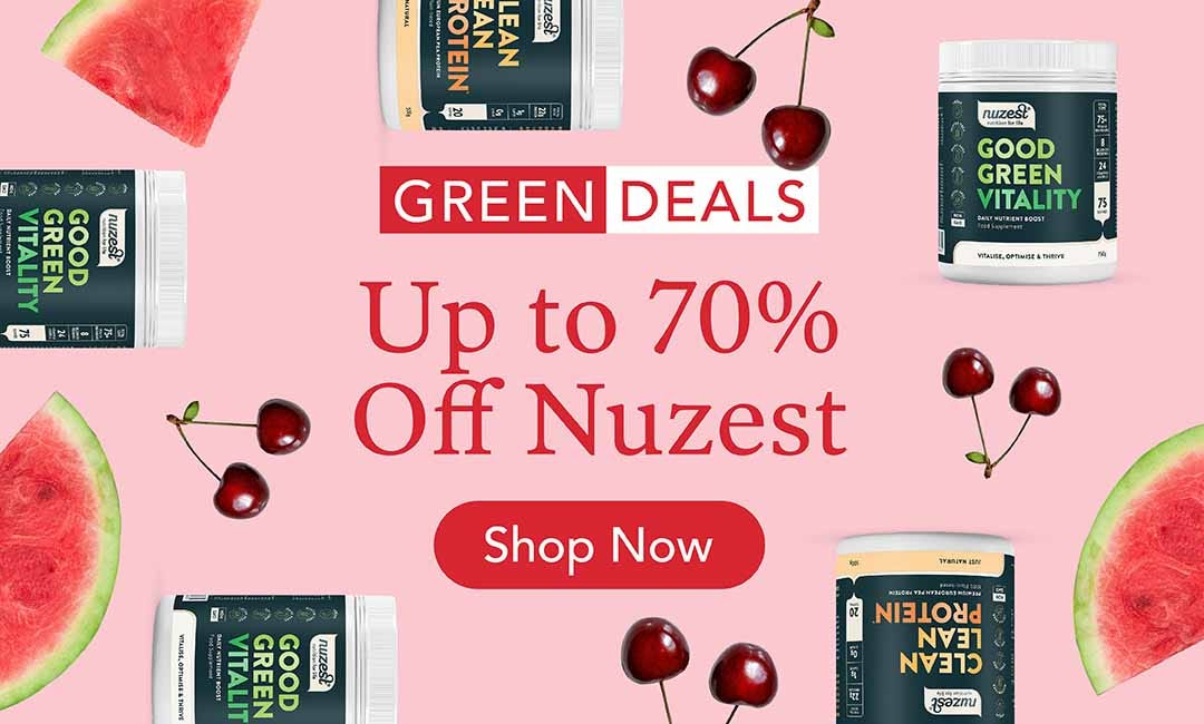 Up to 70% Off Nuzest