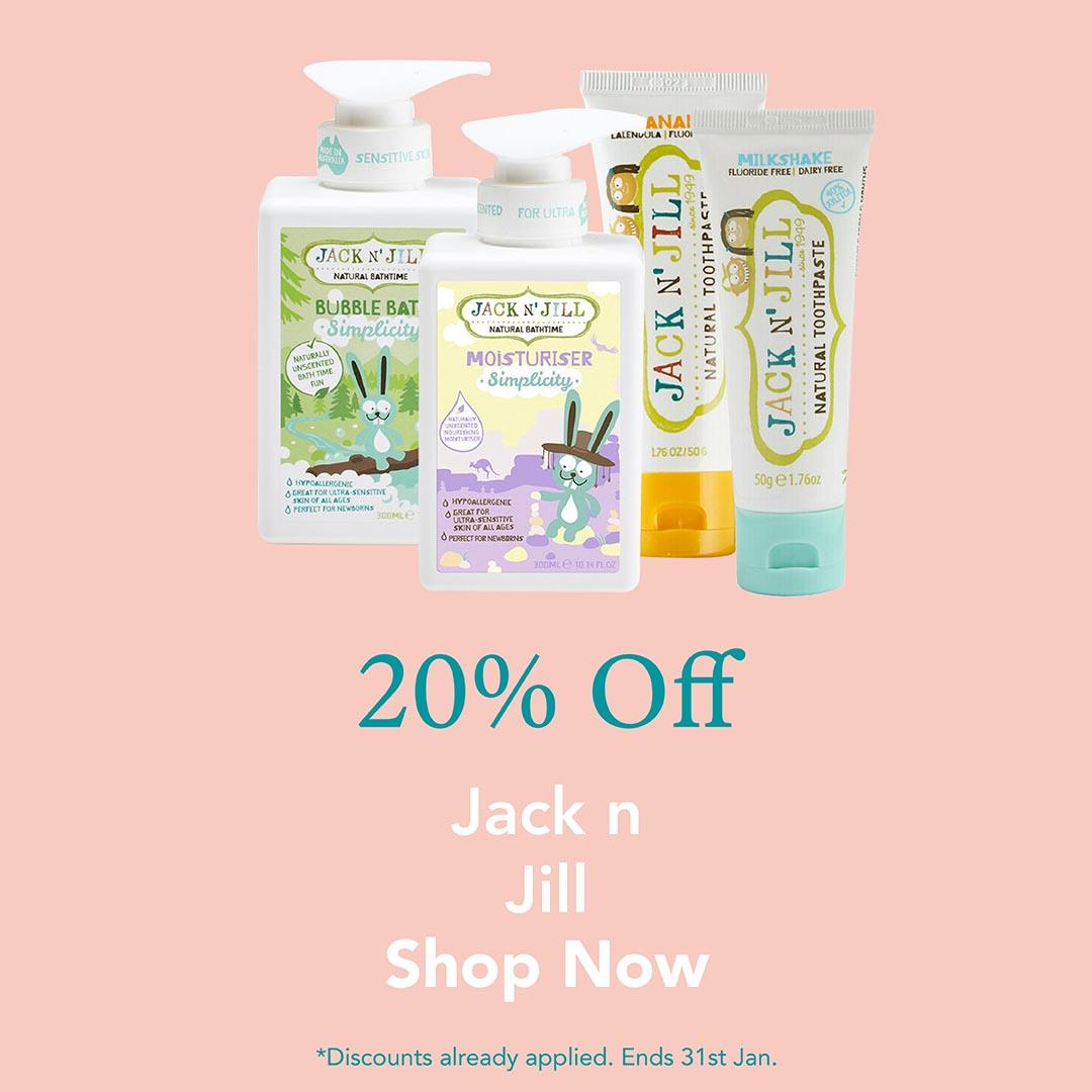 20% Off Jack n Jill