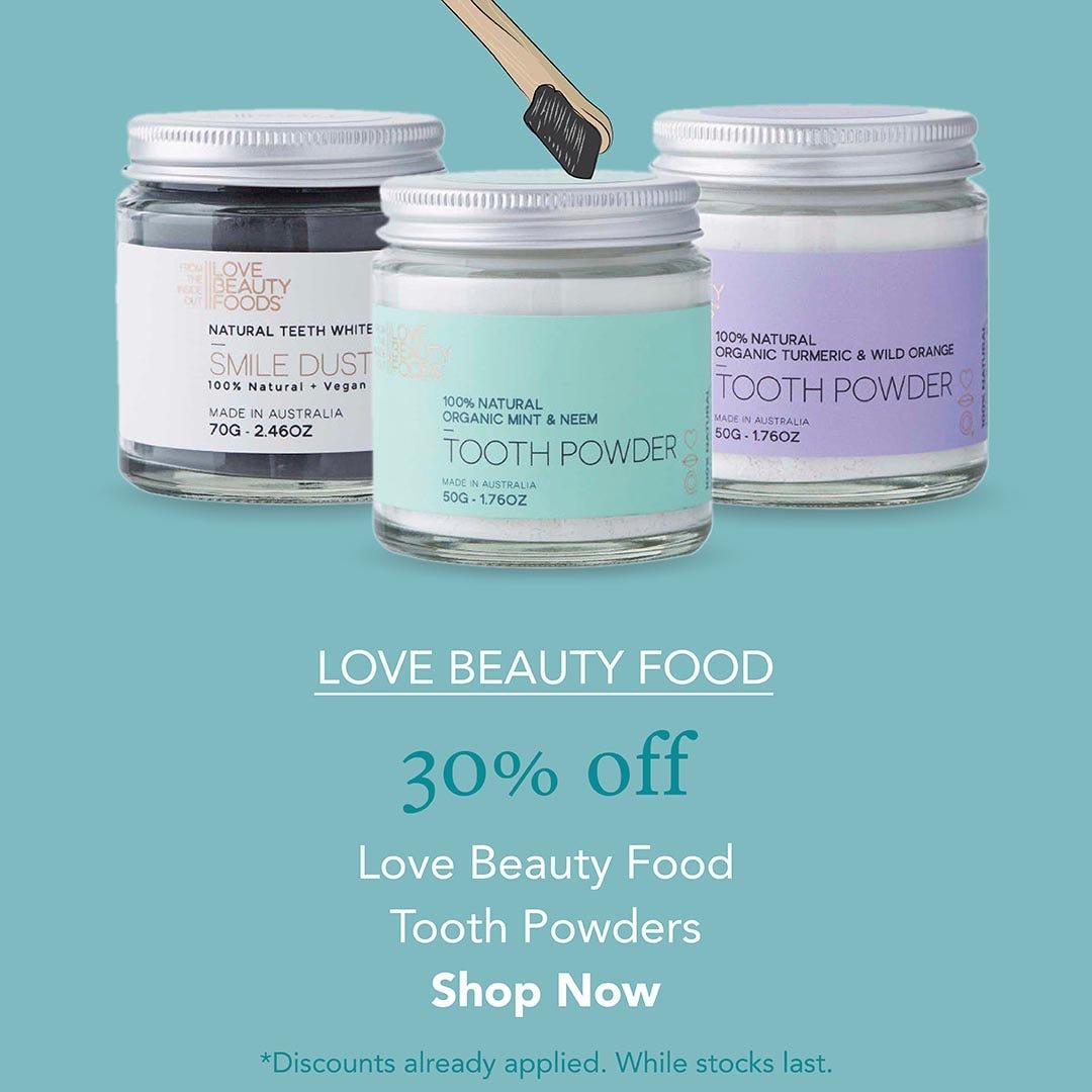 30% Off Love Beauty Foods