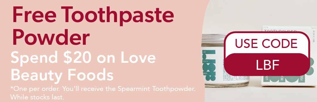 Free Tooth Powder