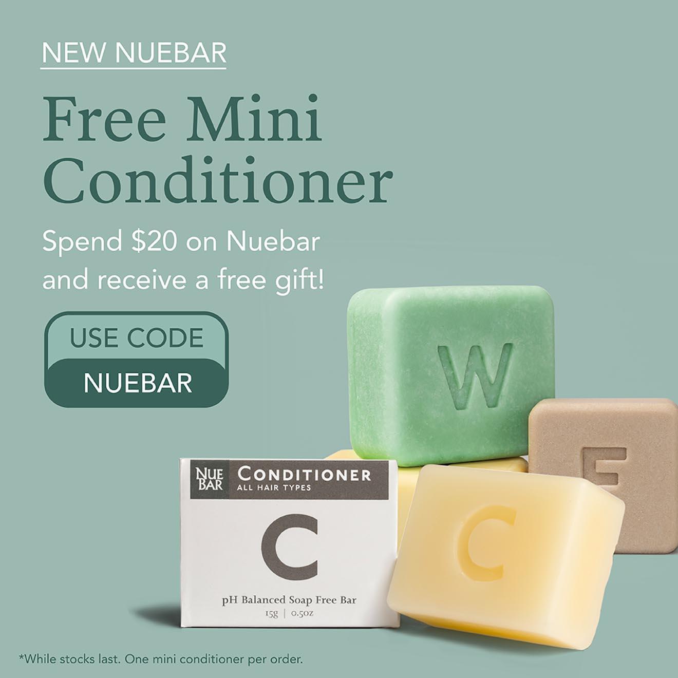 Free Conditioner with NueBar