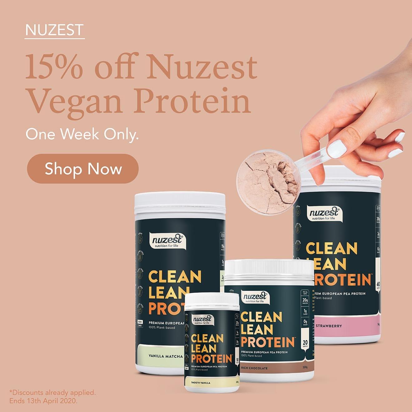 15% Off Nuzest This Week