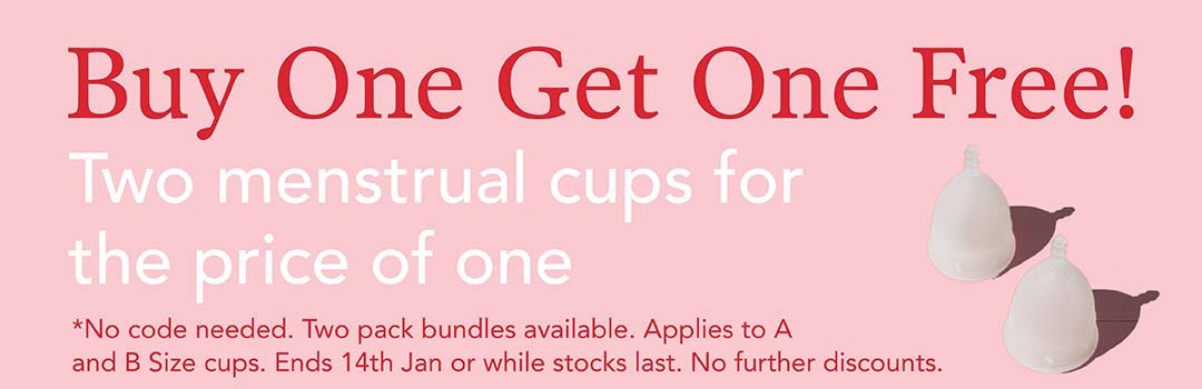 Buy One Get One Free on Menstrual Cups