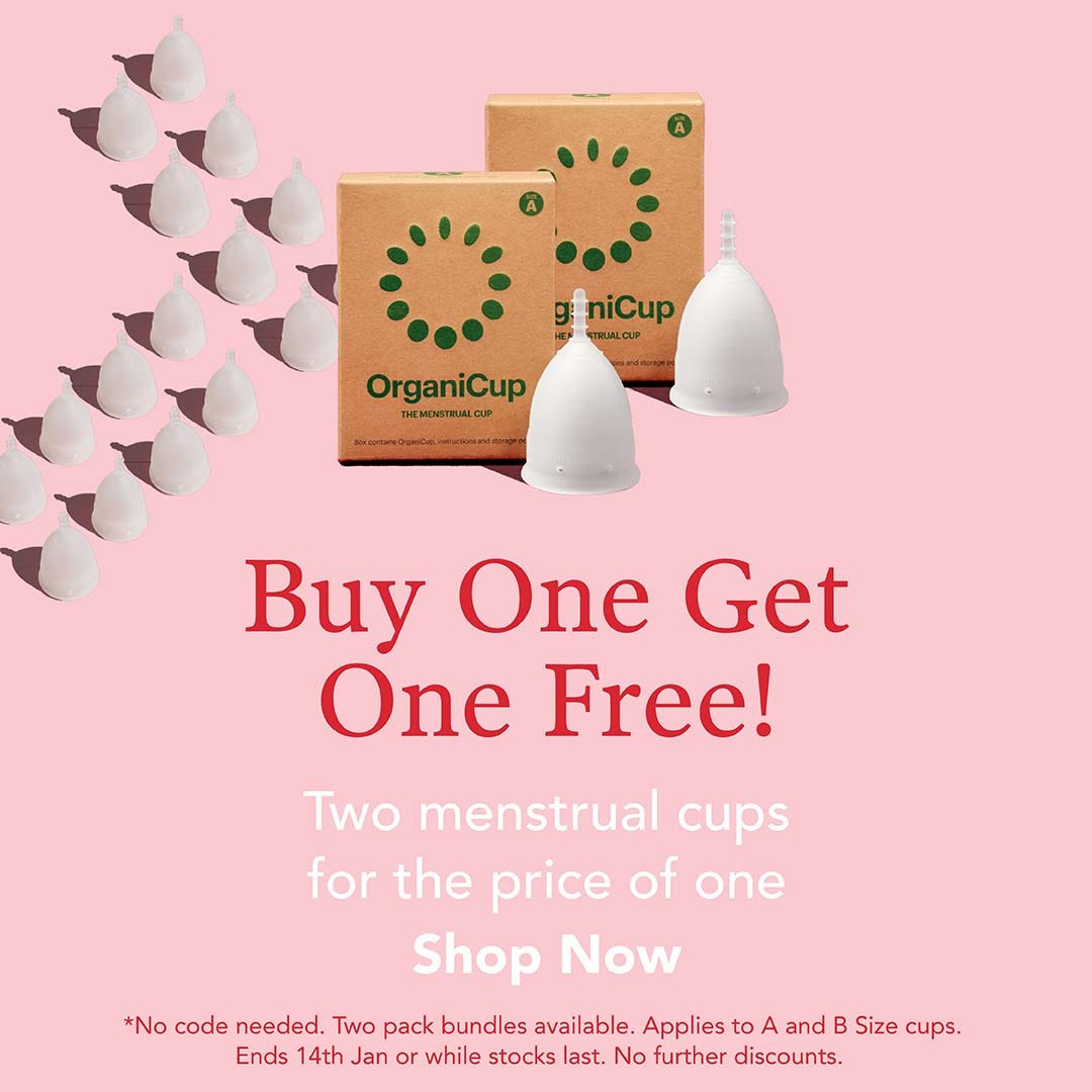 Buy 1 Get 1 Free on OrganiCup