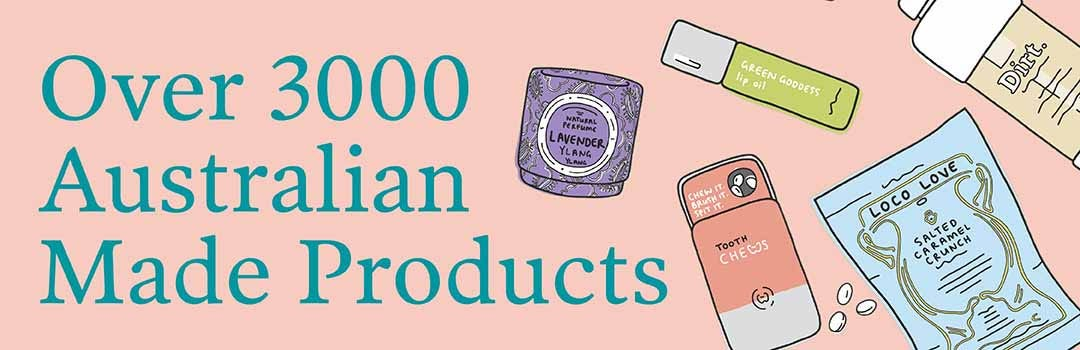 Over 3000 Australian Made products