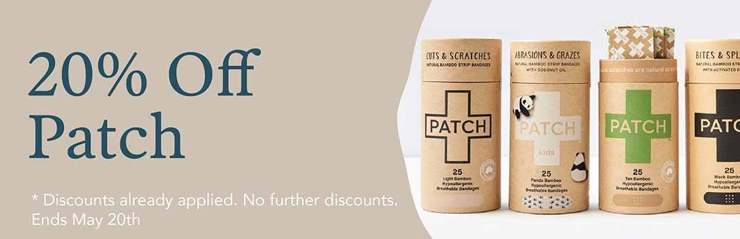 20% Off Patch