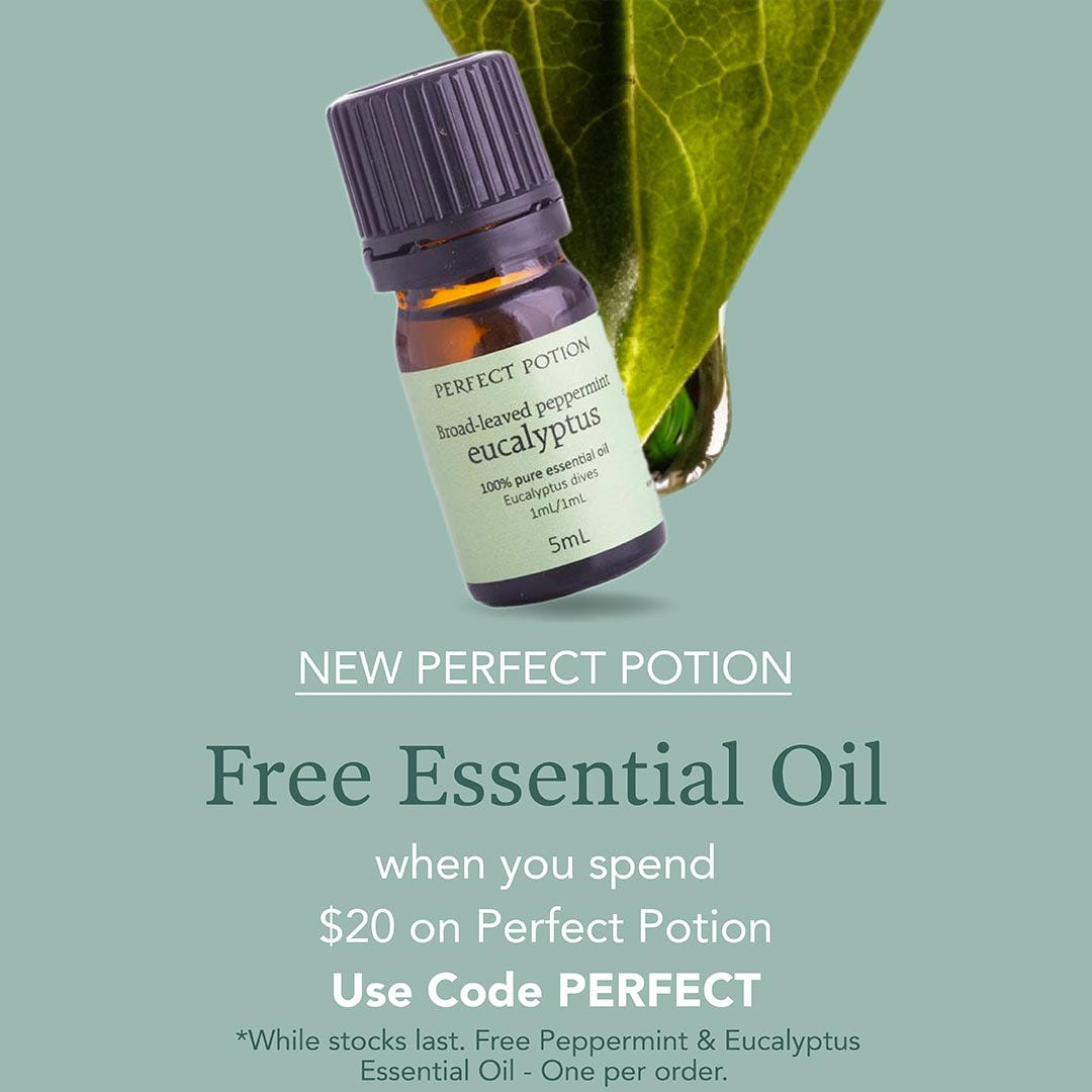 Free Essential Oil from Perfect Potion
