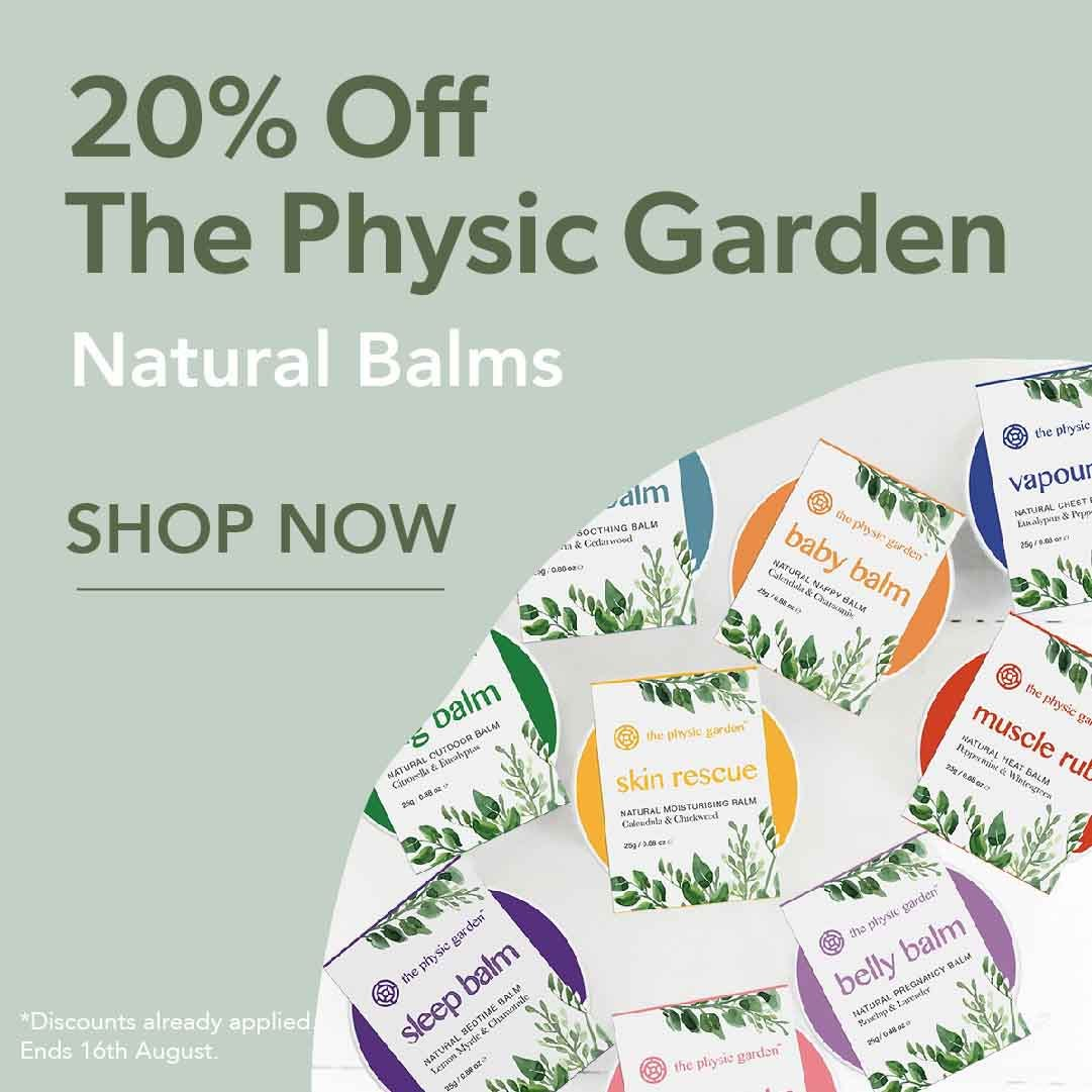 20% Off The Physic Garden