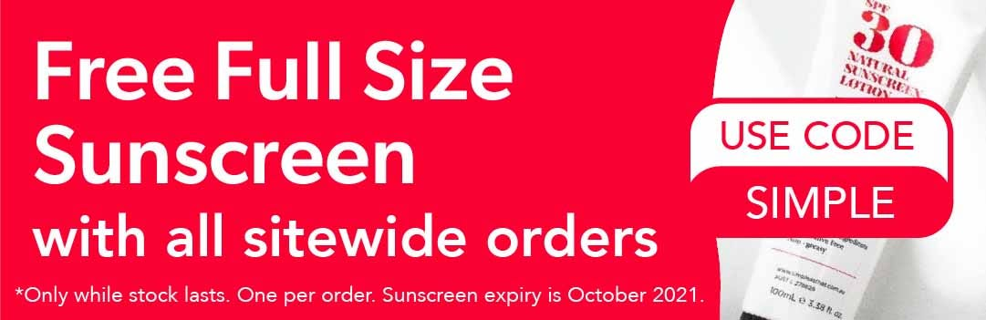 Free Sunscreen