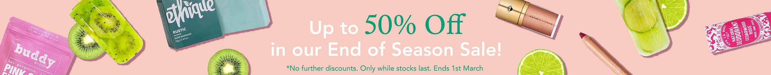 Up to 50% Off in Our Summer Sale