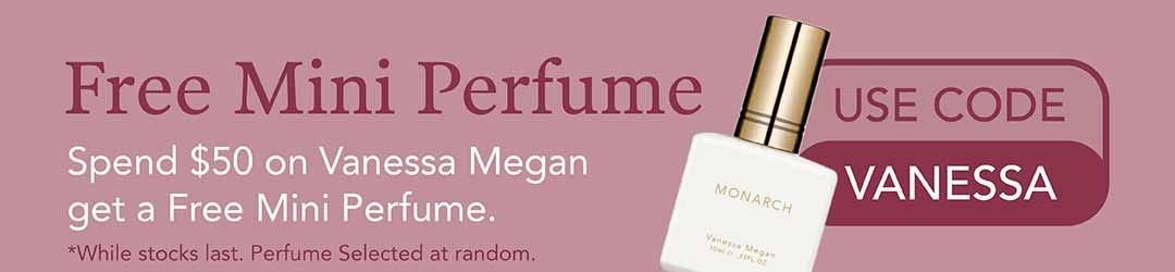 Free Mini Perfume from Vanessa Megan