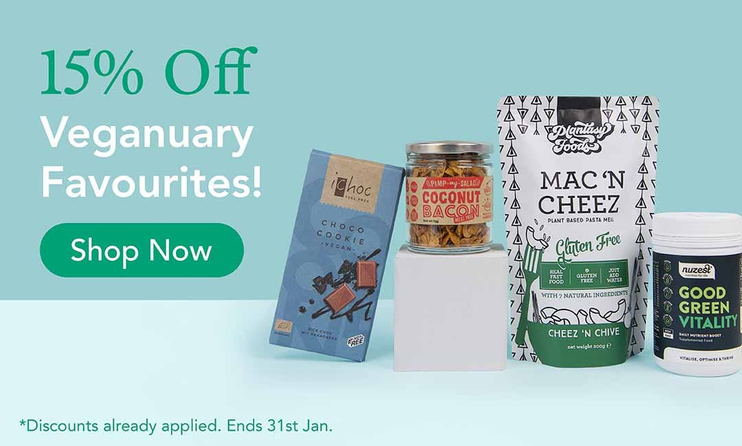 15% Off your Veganuary Favourites