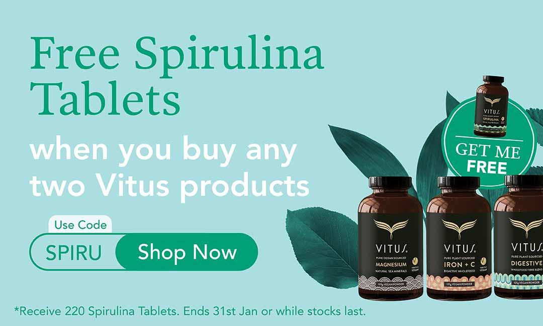 Free Spirulina Tablets